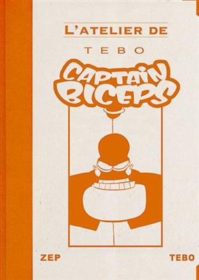 Tébo, Captain Biceps, couverture.